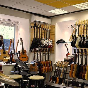 Музыкальные магазины Исетского